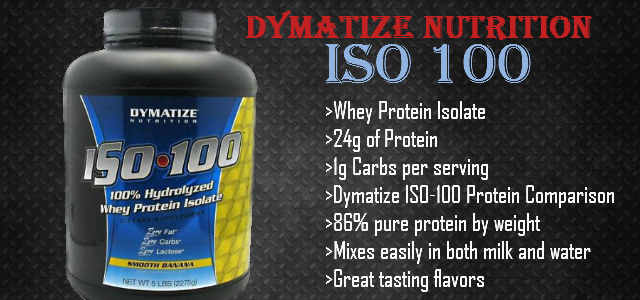 Dymatize Nutrition ISO 100 Review