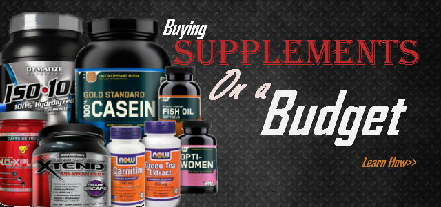 Tips for Buying Supplements on a Budget