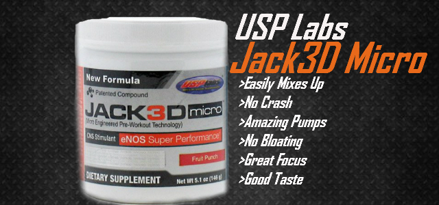 USP Labs  Jack3D Micro Review