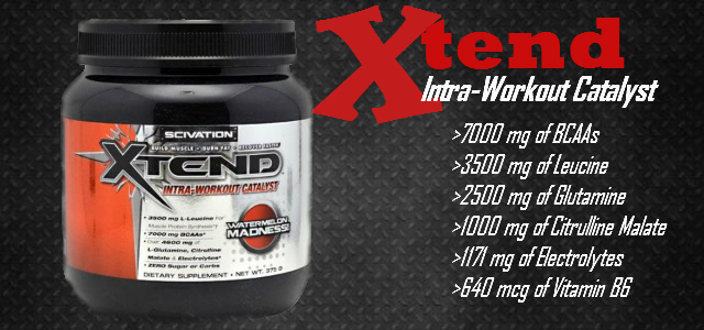 SCIVATION Xtend Intra-Workout Catalyst Review