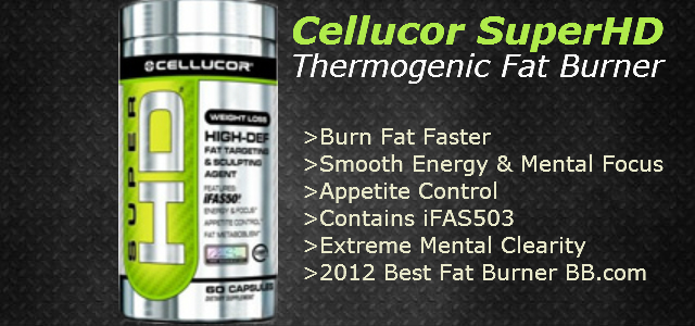 Cellucor SuperHD Thermogenic Fat Burner Review