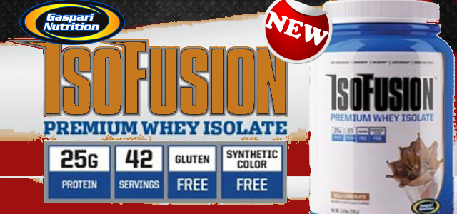 Gaspari Nutrition New IsoFusion Review
