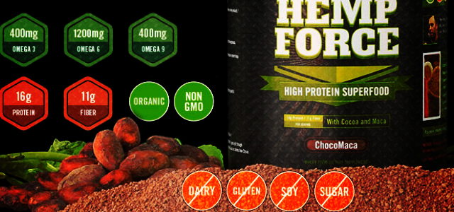 Onnit New Hemp Force Protein Superfood