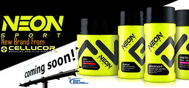 New Supplements By Cellucors Neon Sport 2013