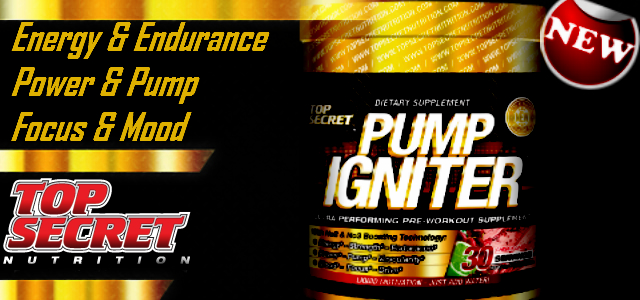New TSN Pump Igniter Pre-Workout Review