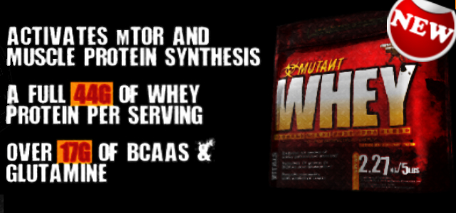 Whey Protein Powder by Mutant Review