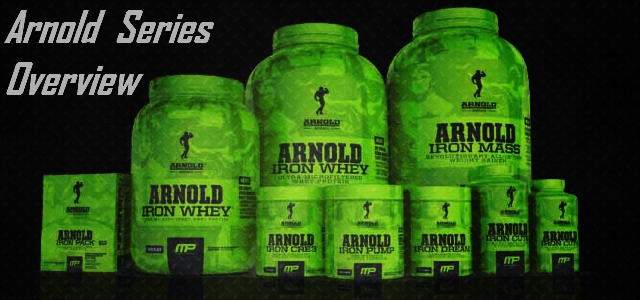 New MusclePharm Arnold Series Overview