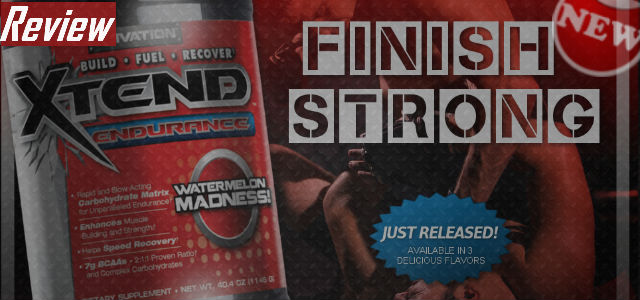 New Xtend Endurance by Scivation Review