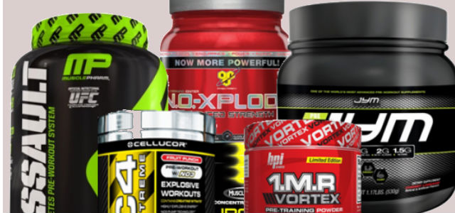 10 Best Pre Workout Supplements for 2016