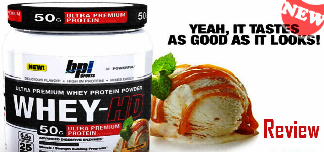BPI Sports Whey HD Review-BPI New Whey Protein Powder
