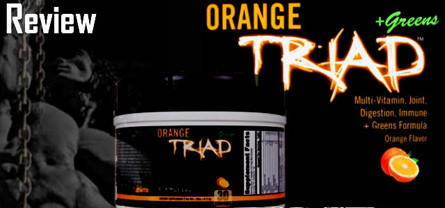 Orange Triad + Greens Review-Controlled Labs Multivitamin