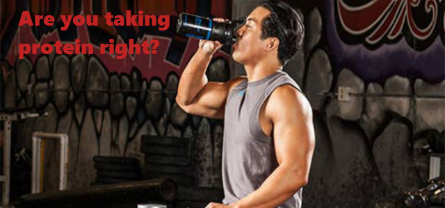 Are you taking Protein Supplements Correctly?