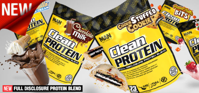 MAN Sports Clean Protein Review